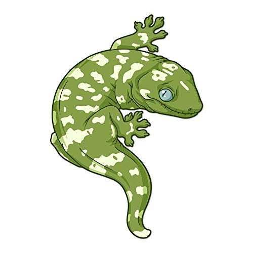 New Caledonian Giant Leachie Gecko Decal -Indoor and Outdoor use! (Olive)