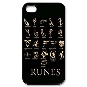 EVA Mortal Instruments iPhone 4,4S Case,Snap-On Protector Hard Cover for iPhone 4,4S by runtopwell