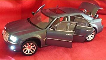 Chrysler 300c 300 C Licht Beleuchtung Led Grau 1/18 Modellauto Modell Auto