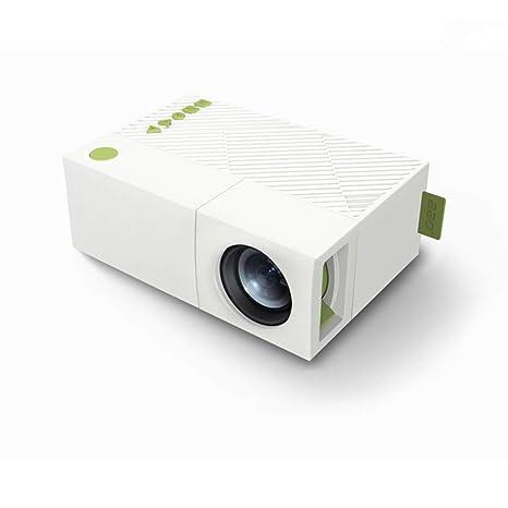 NiuCa Proyector portátil Pico HD LED Recargable, Mini proyector de ...
