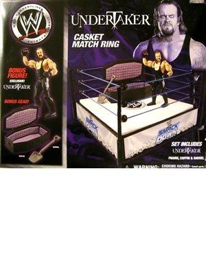 (WWE Undertaker Casket Match Ring Includes Undertaker Figure)
