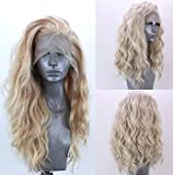 Best Lace Front Wigs - Golden Lace Front Wig Luckyfine Long Loose Curly Review