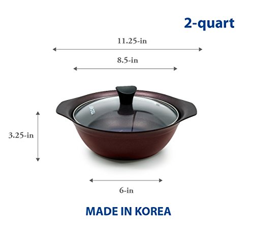 Amazon Uk  Quart Soup Pot Glass Lid
