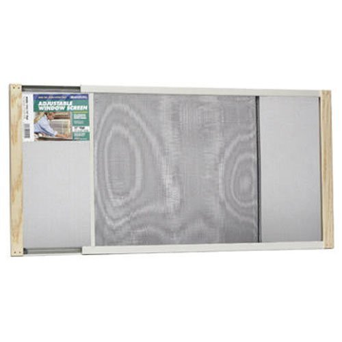 Frost King WB Marvin AWS1545 Adjustable Window Screen, 15in High x Fits 25-45in Wide by WB Marvin