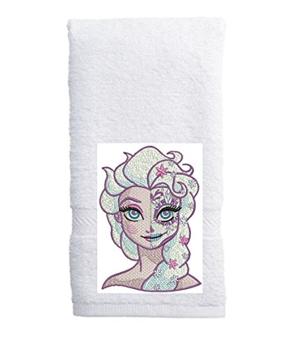 Modern Day of the Dead PRINCESS kitchen / hand towel
