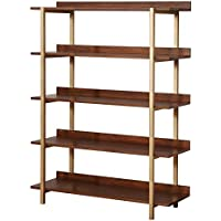 HOMES: Inside + Out IDF-AC6048 Anissa Bookshelf/Organizer