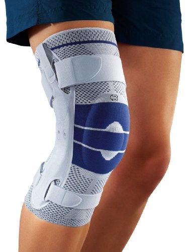 GenuTrain S Pro Knieorthese mit einstellbaren Gelenkschienen zur seitlichen Stabilisierung des Knies