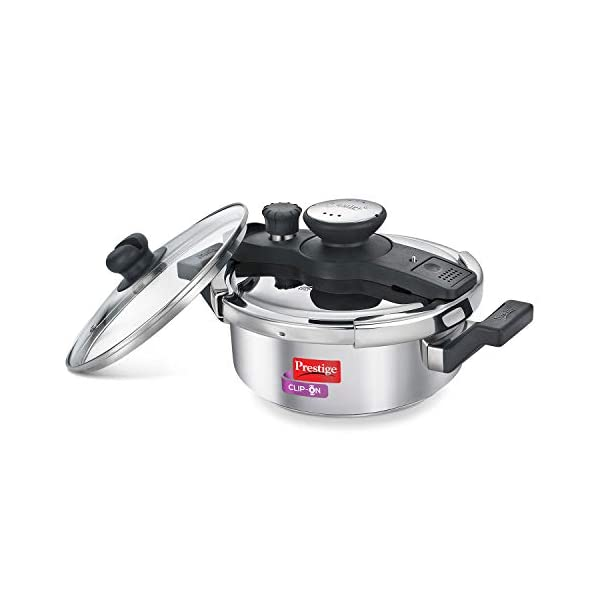 Prestige Stainless Steel Pressure Cooker 3 Litres