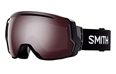 Smith Optics I/O 7 Adult Interchangable Series Snocross Snowmobile Goggles Eyewear - Black / Ignitor Mirror / Medium