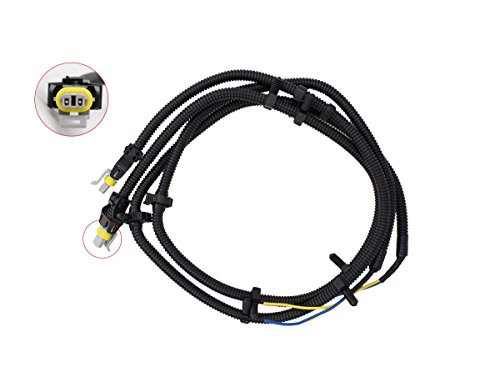 Galleon 2 Pcs Of Abs Wheel Speed Sensor Wire Harness Pigtail Plug