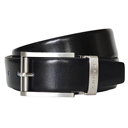 Cross Men Classic Century Formal Genuine Leather AC018193-1 Belt (BLK/BRN REVERSIBLE) (36)
