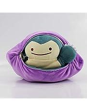 Snorlax Pokemon Knuffel 30 Cm Speciaal Ontwerp Ditto Metamon Inside-Out Idem Wordt Gevulde Pop Kussen Kussen
