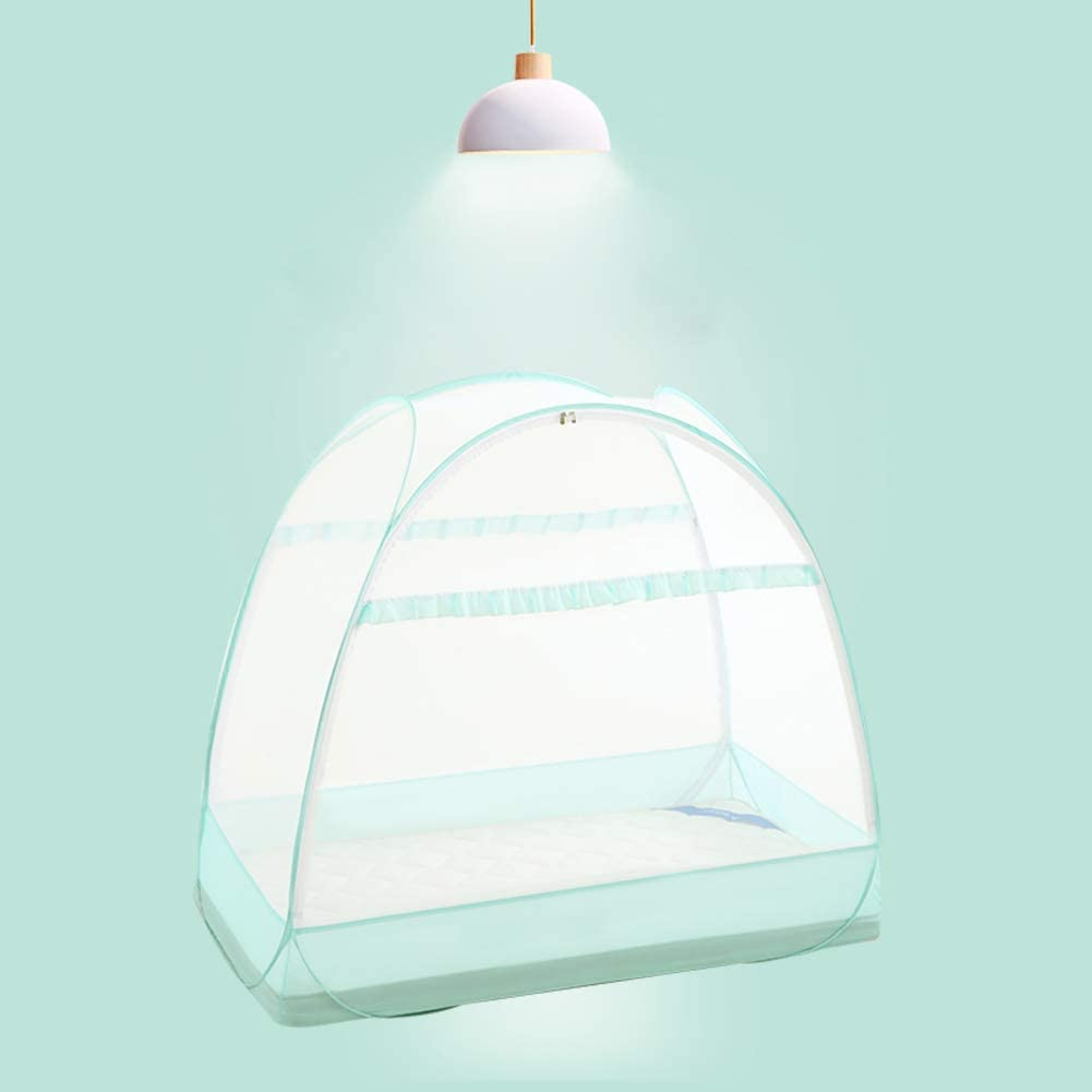 Mosquito Net Tent,fordable Portable Mosquito Netting Baby Canopy Cover Safety Pop Up Tent for Nursery Crib-b 137x70cm 54x28inch