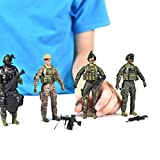 Navy Seals Action Figures – 5 Pack Military Toy