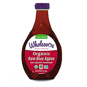 Wholesome Sweeteners Fair Trade Organic Raw Blue Agave - 6/44oz