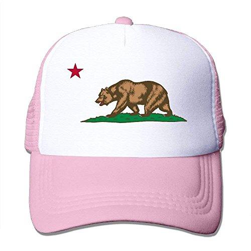 Cap Bear Adjustable Logo Mesh C57 Hot Popular Unisex Caps Trucker Flag Black California For Hats Hat Cool qrn7qxTHw