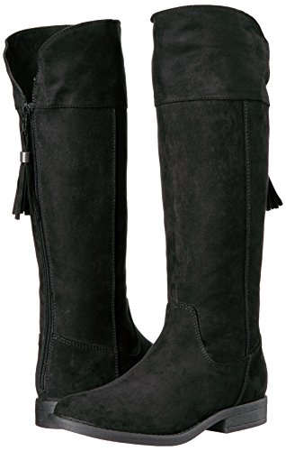 Sugar Girls' Powdered Pull-on Boot, Black Suede, 13 M US Little Kid by Sugar (Image #6)