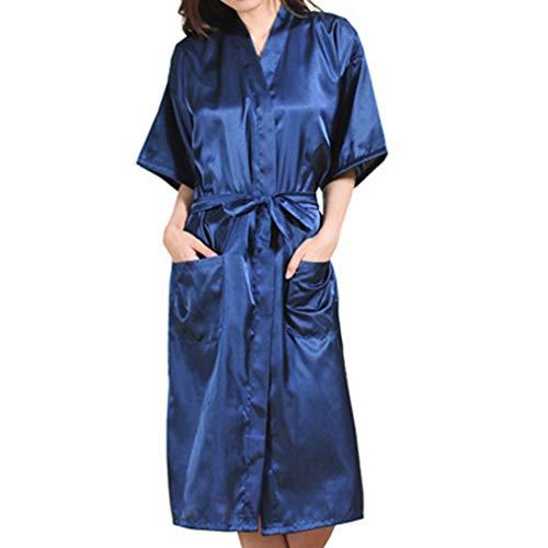 Yying Boda Madre Novia Bata Albornoz Kimono Bata Bata Nocturna Bata de Baño Bata de Moda para Mujer: Amazon.es: Ropa y accesorios