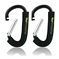 Handy Stroller Hooks, Perfect Stroller Accessories Clips On Any Baby Stroller...