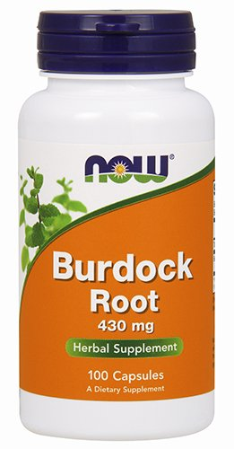 NOW Burdock Root 430 mg,100 Capsules Review