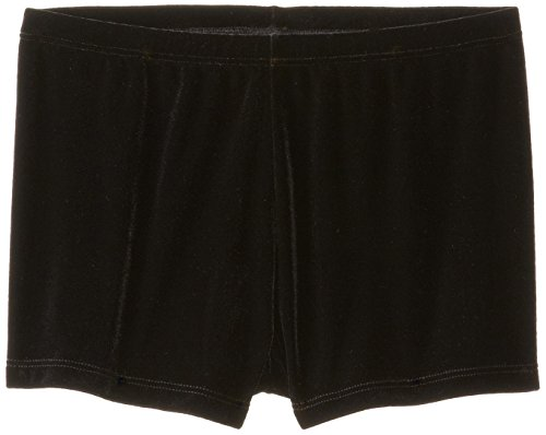 Clementine Little Girls Plush Velvet Boy-Cut Shorts