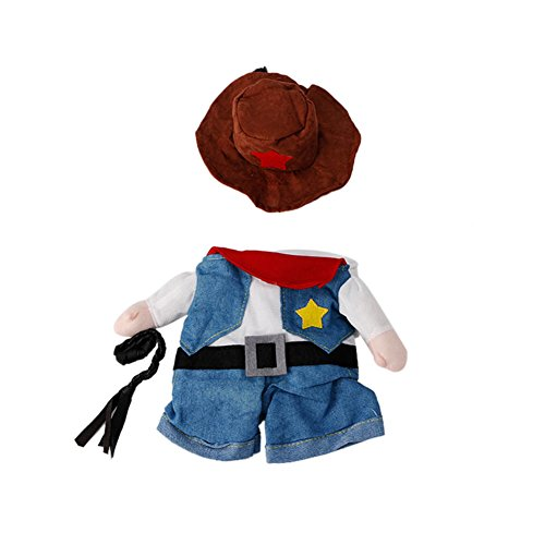 Roll Tootsie Amazon Costume (Delight eShop Funny Pet Costume Dog Cat Costume Clothes Dress Apparel Doctor Policeman Cowboy)