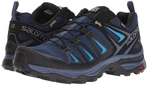 Salomon Women's X Ultra 3 GTX Trail Running Shoe, Medieval Blue/Black/Hawaiian surf, 5 B US by Salomon (Image #5)