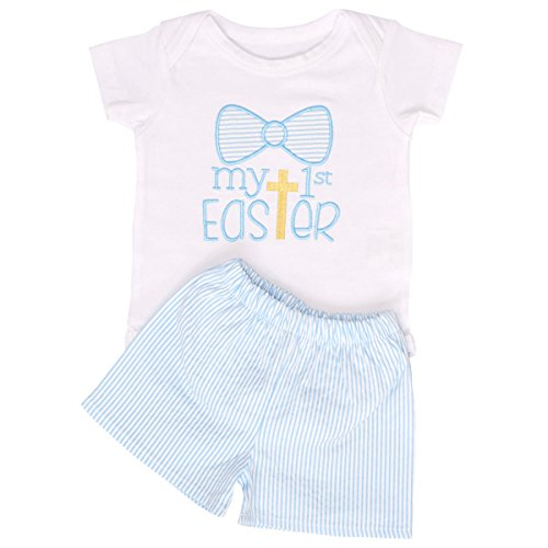 Unique Baby Boys My 1st Easter Layette Set With Shorts (Newborn)