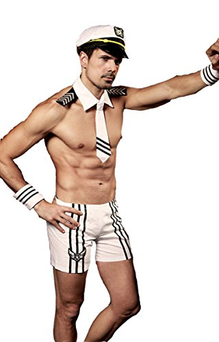 Sexy Sailor Costume Set for Men]()