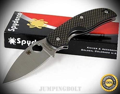 Sage Carbon Fiber - Carbon Fiber Sage Plain Edge Knife C123CFP - Premium Quality Very Sharp EMT EDC