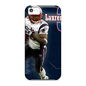 Iphone 5c Case Cover - Slim Fit Tpu Protector Shock Absorbent Case (new England Patriots)