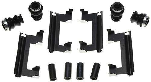 - ACDelco 18K990X Professional Front Disc Brake Caliper Hardware Kit with Clips, Seals, and Bushings
