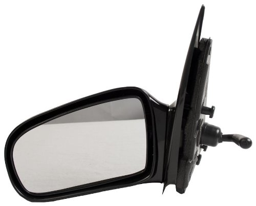 OE Replacement Chevrolet Cavalier/Pontiac Sunfire Driver Side Mirror Outside Rear View (Partslink Number GM1320168)