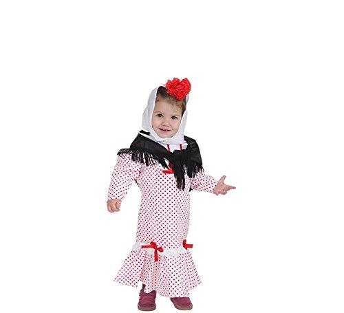 LLOPIS - Disfraz Bebe chulapa Coral XS