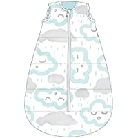 Baby Studio My First 2.5 Tog Clouds Cotton Studio Bag for 0-6 Month Babies, Clouds Peppermint
