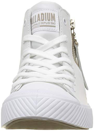 Palladium Rouge Pallaphoenix Mtl Classiques Blanc Mixte Z white light Adulte Q58 Bottes white Bottines Et Gold TrTq6nx