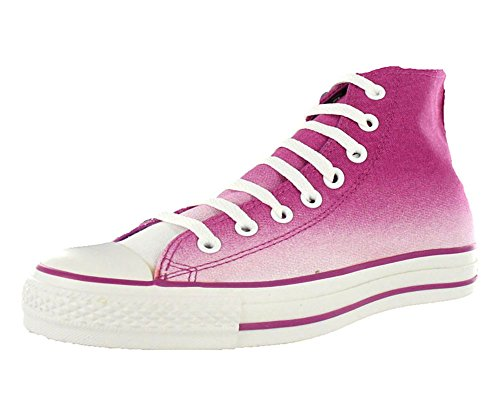 Converse Chuck Taylor Gradiated Hi Violet/White Ankle-High Canvas Fashion Sneaker - 10M 8M