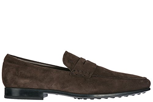for sale top quality Tod's Men's Suede Loafers Moccasins Rubber SOTTILE QO Brown outlet brand new unisex wide range of cheap price sale buy SFvZ5CukS