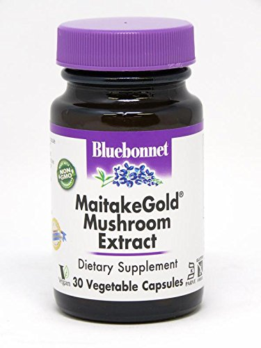 - BlueBonnet Maitake Gold Mushroom Extract Supplement, 30 Count