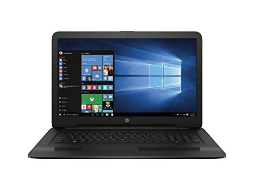 HP High performance 17.3' HD+ WLED-backlit Laptop, 7th Gen Intel i5-7200U 2.5G Hz Processor, 12GB DDR4, 1TB HDD,DVD Burner, WiFi, Webcam, HDMI, USB 3.1, Intel HD Graphics 620, DTS Sound, Windows 10