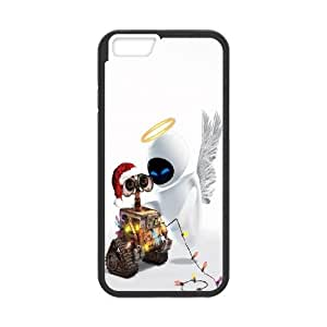 iPhone 6 4.7 Inch Cell Phone Case Black Wall E Christmas P2I9ZM