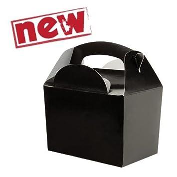 Amazon.com: Childrens / Kids Party Food Meal Boxes - Plain Colours ...