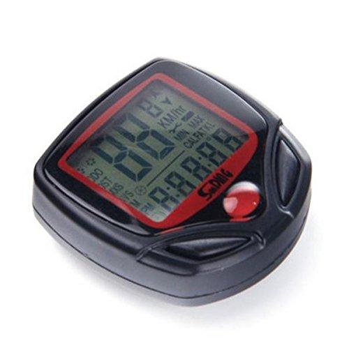 ensunpal store High Quality Digital LCD Waterproof Computer Bicycle Speedometer