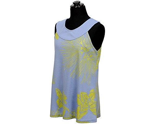 変更可能受ける印刷するEast Honolulu Clothing Company ホルターネック トップ