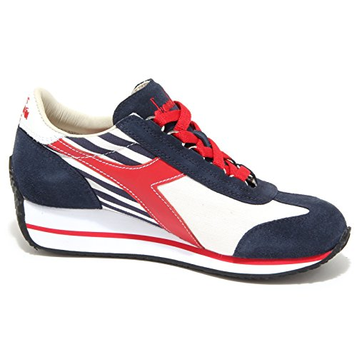 blu rosso Donna 6137n Diadora Woman Shoes Rosso Sneakers Blu Heritage ABfAw1qp