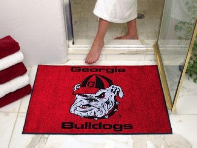 georgia bulldogs area rug - 9