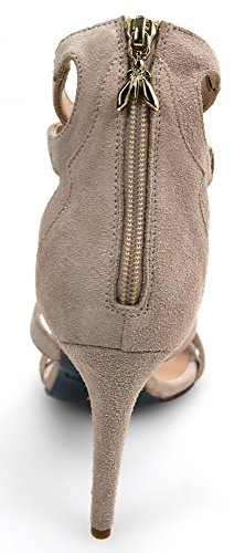 Tacón De a484 Pink Gamuza Sandalia Pepe Mujer Zapato Para Patrizia Rosa Art 2v7074 wqCE4Fxt