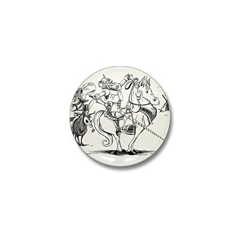 CafePress Don Quixote Mini Button 1