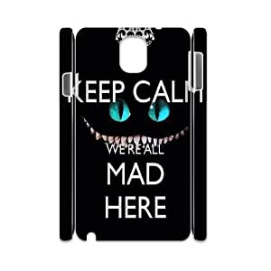 We Are All Mad Here Customized 3D Case for Samsung Galaxy Note 3 N9000, 3D New Printed We Are All Mad Here Case
