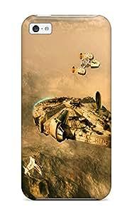 New Arrival CTNikHc6839rRfGS Premium Iphone 5c Case(star Wars Artwork Vehicles)